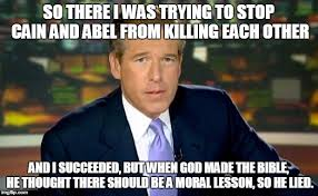 Reporter On Cain and Abel