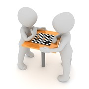 two-chess-players